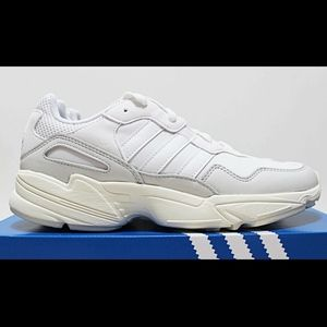 ADIDAS YUNG-96 Triple Off White Chunky Sneakers